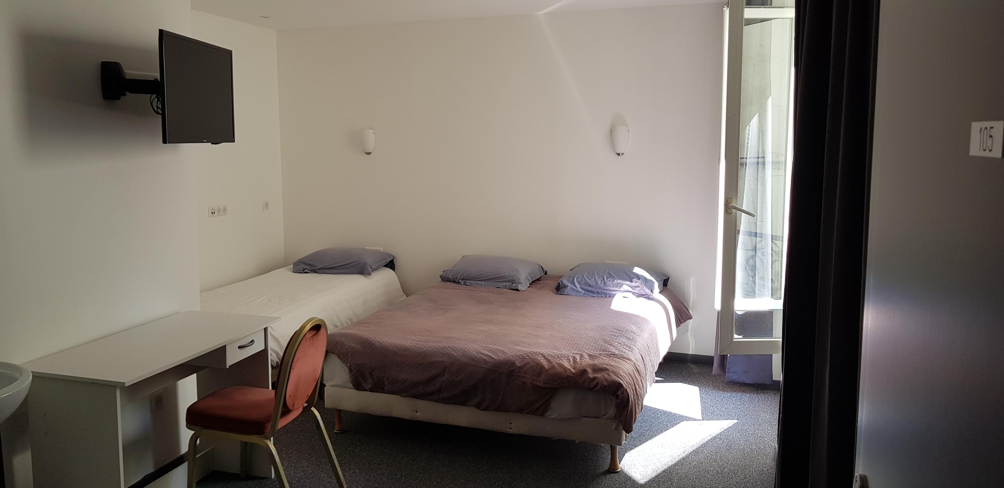 chambre triple